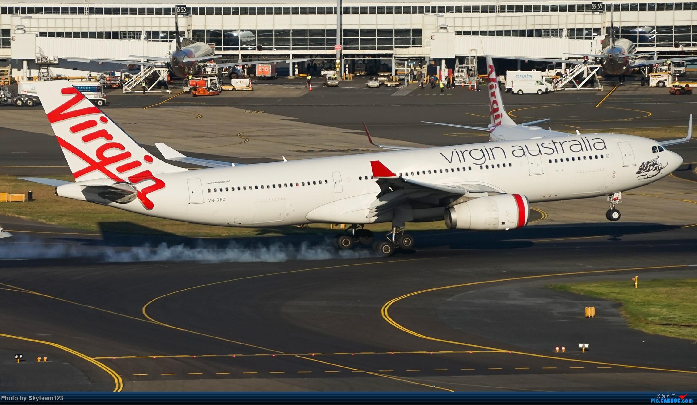 Re:[原创][SYD] 假期拍机小结 解锁16R跑道头拍机位 & 停车楼拍机作业 【全宽体】 AIRBUS A330-200 VH-XFC 澳大利亚悉尼金斯福德·史密斯机场
