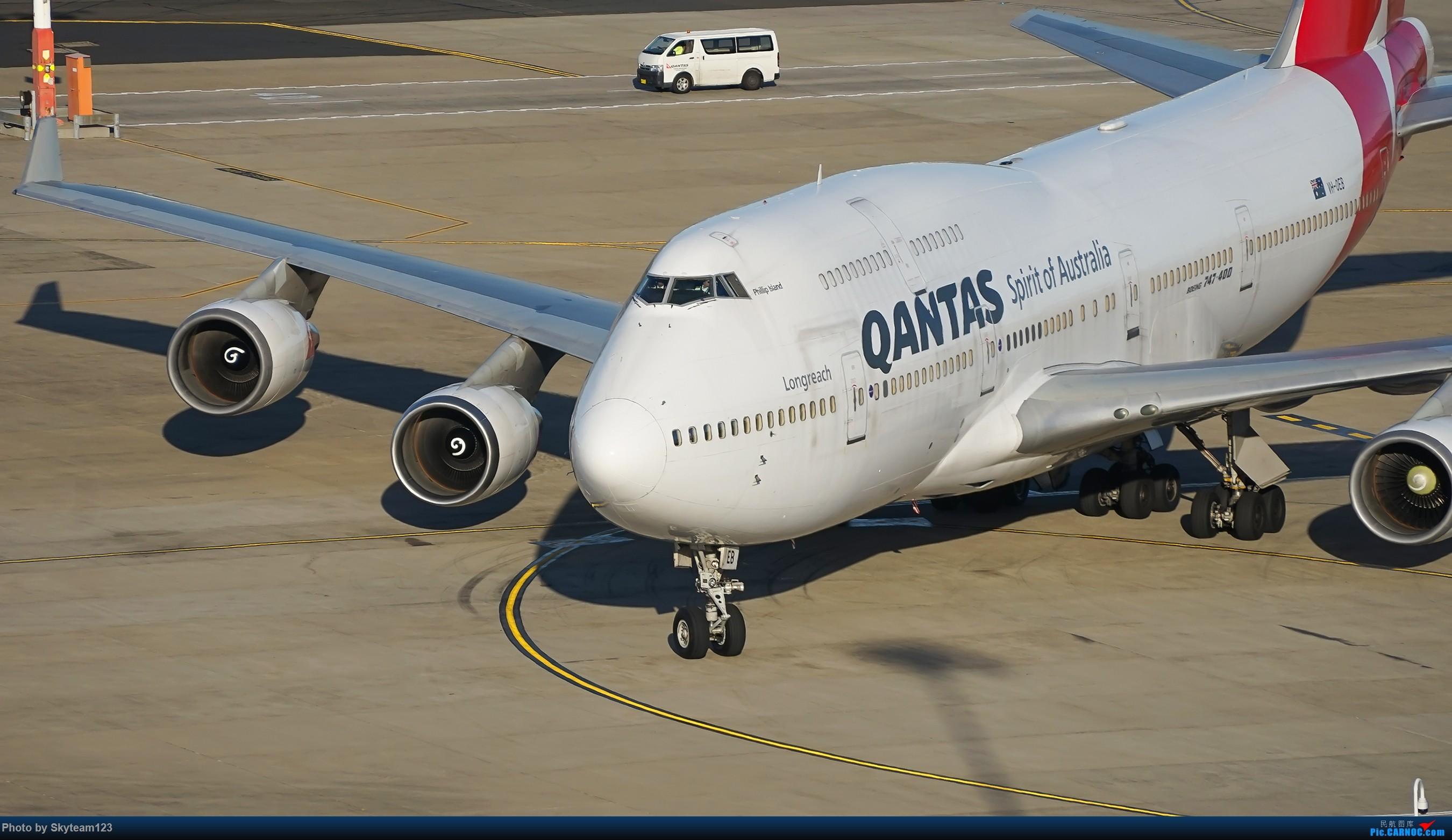 Re:[原创][SYD] 假期拍机小结 解锁16R跑道头拍机位 & 停车楼拍机作业 【全宽体】 BOEING 747-400 VH-OEB 澳大利亚悉尼金斯福德·史密斯机场