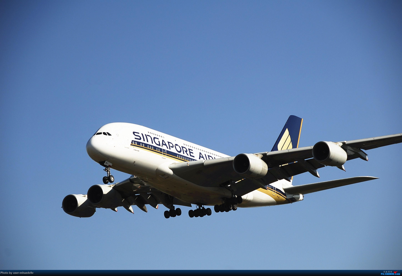 Re:[原创]十一难得北京妖天,萌新ZBAA拍机一组干货,大佬勿喷,马上月考更要放飞自我。。。 AIRBUS A380 9V-SKJ 中国北京首都国际机场