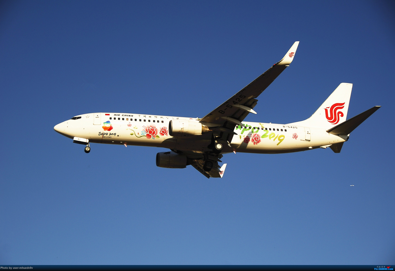 Re:[原创]十一难得北京妖天,萌新ZBAA拍机一组干货,大佬勿喷,马上月考更要放飞自我。。。 BOEING 737-800 B-5425 中国北京首都国际机场