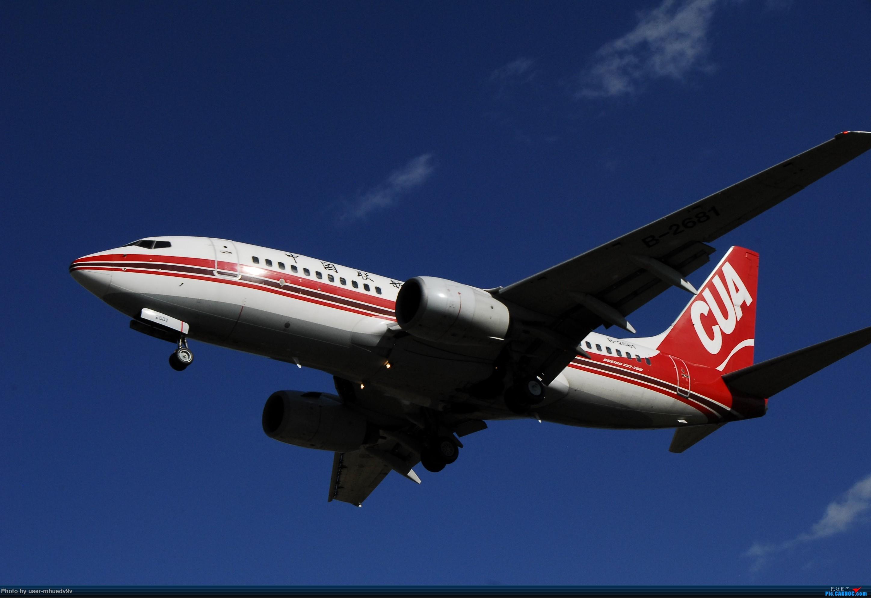 Re:[原创]十一难得北京妖天,萌新ZBAA拍机一组干货,大佬勿喷,马上月考更要放飞自我。。。 BOEING 737-700 B-2681 中国北京首都国际机场