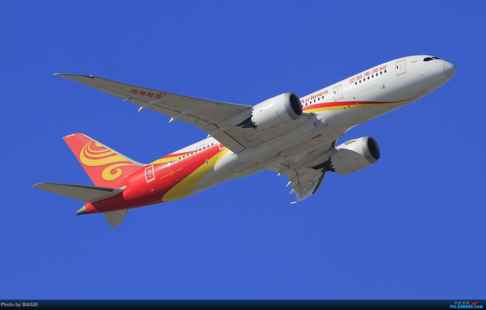 Re:[原创]10-1首都机场随拍,帝都蓝加好看的那一些…… BOEING 787-8 B-2731 中国北京首都国际机场