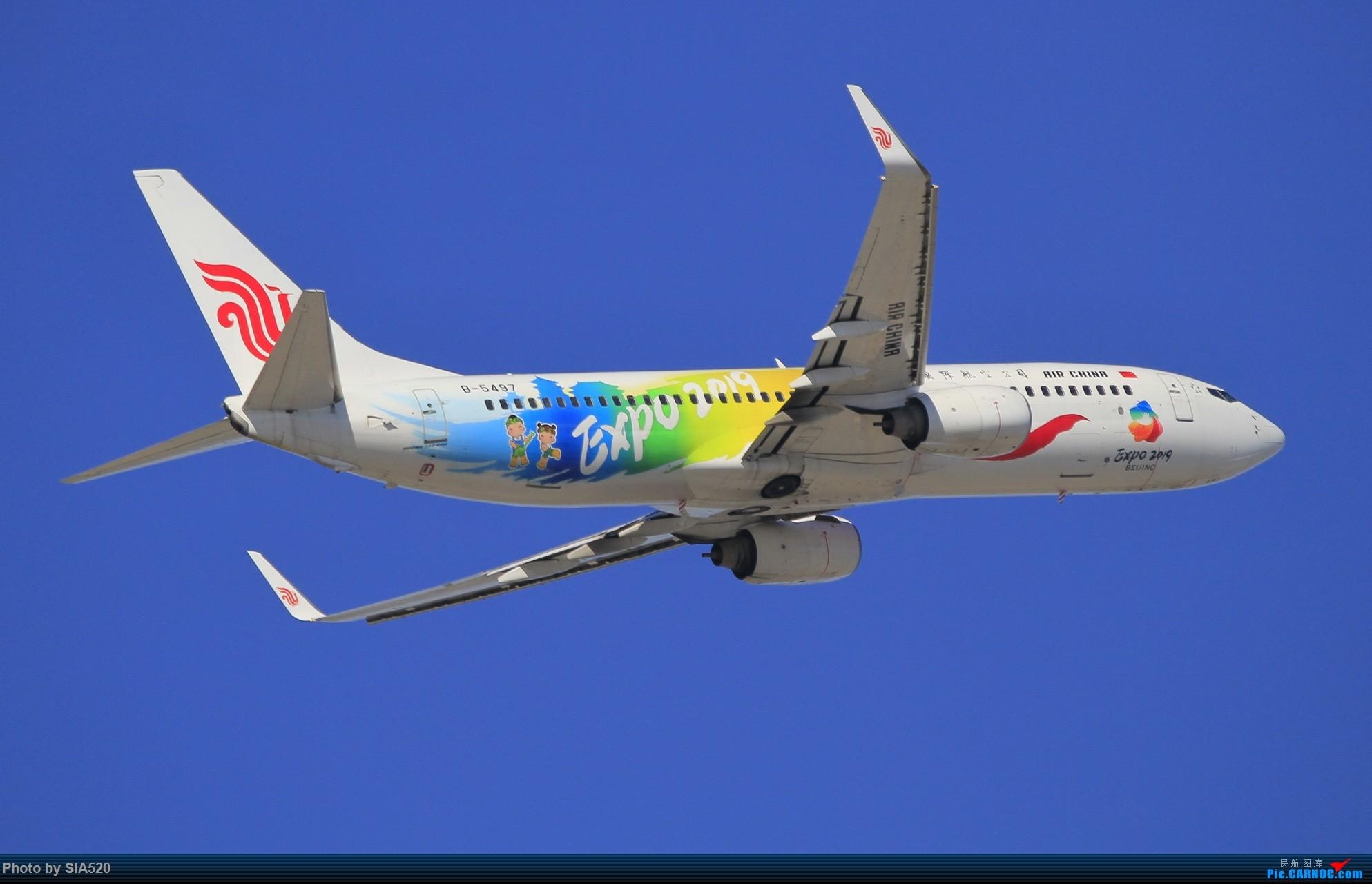 Re:[原创]10-1首都机场随拍,帝都蓝加好看的那一些…… BOEING 737-800 B-5497 中国北京首都国际机场