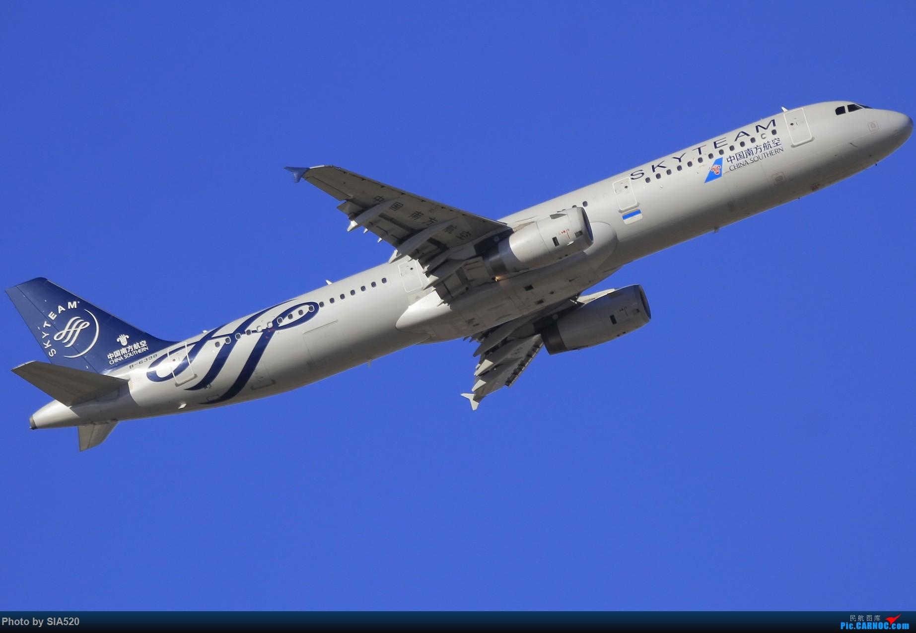 Re:[原创]10-1首都机场随拍,帝都蓝加好看的那一些…… AIRBUS A321-200 B-6398 中国北京首都国际机场