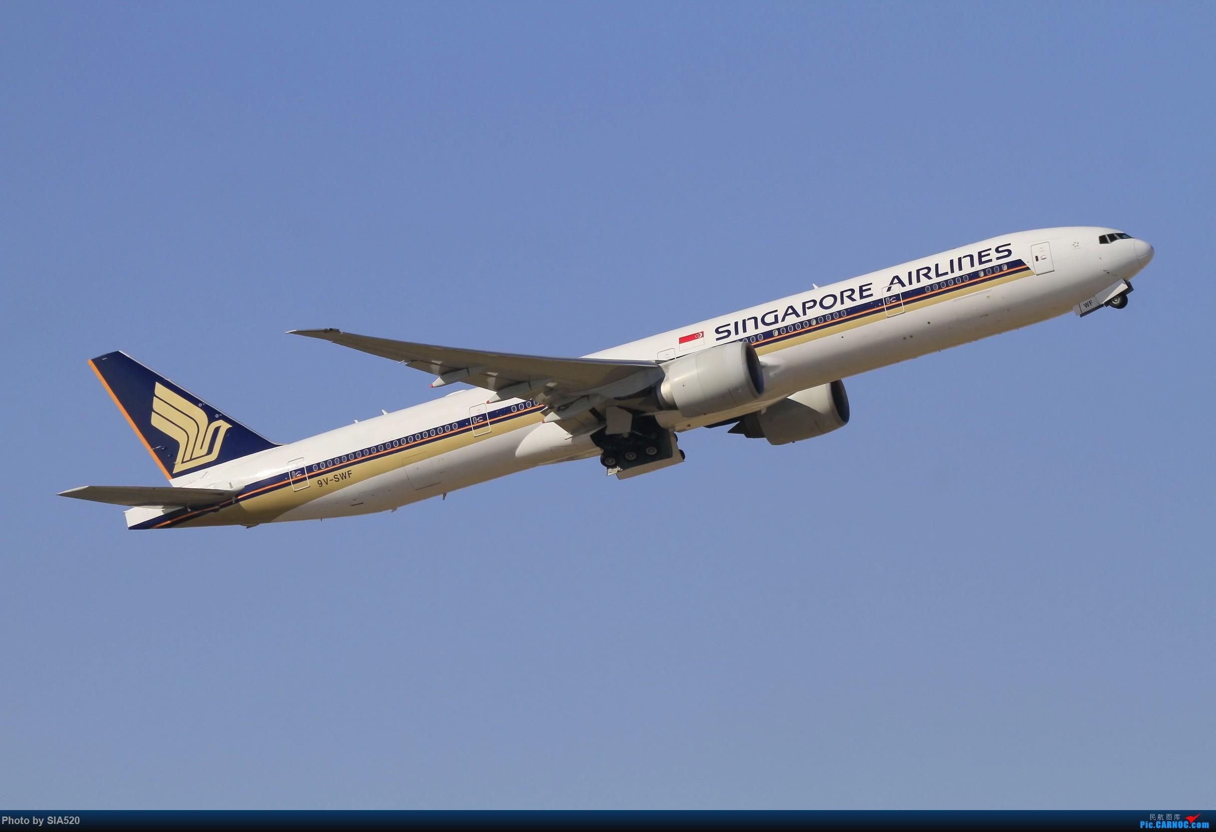 Re:[原创]10-1首都机场随拍,帝都蓝加好看的那一些…… BOEING 777-300ER 9V-SWF 中国北京首都国际机场