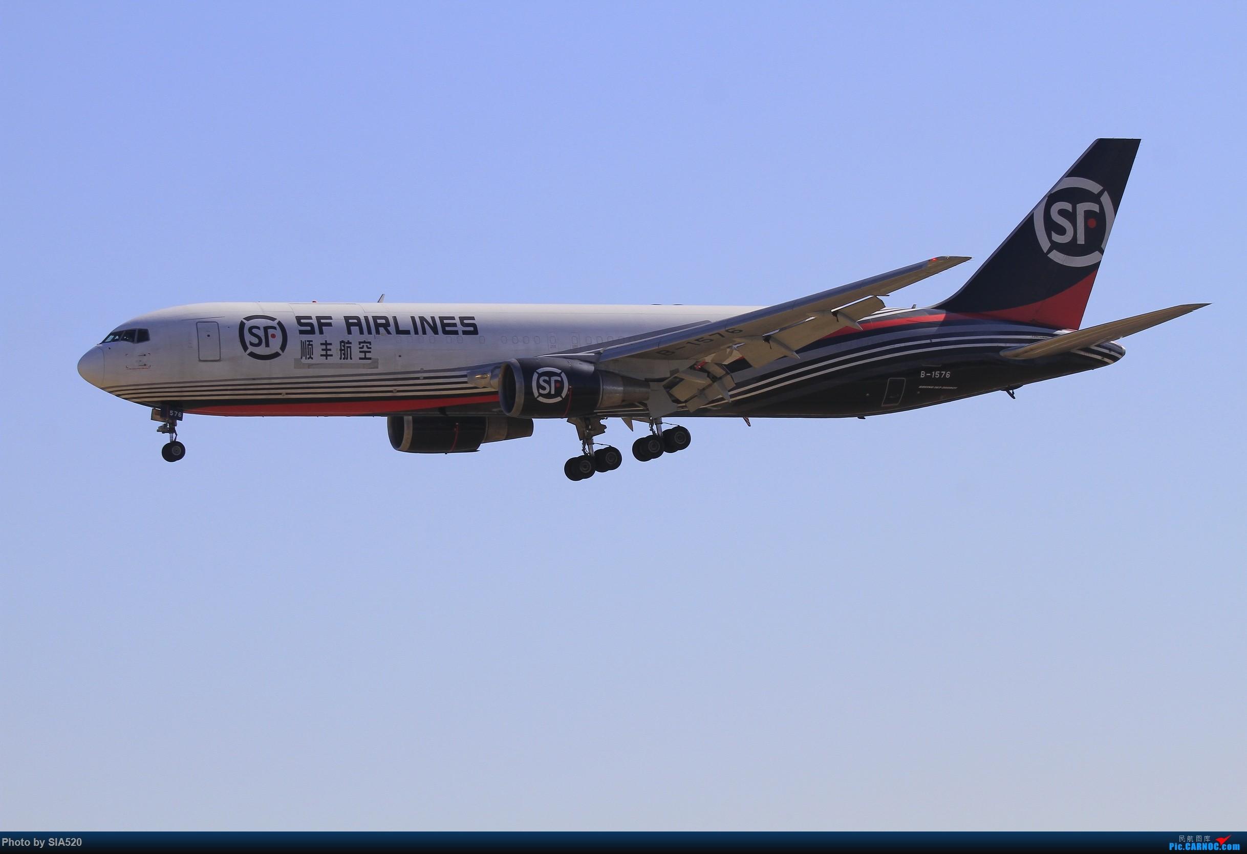 Re:[原创]10-1首都机场随拍,帝都蓝加好看的那一些…… BOEING 767-300ER B-1576 中国北京首都国际机场
