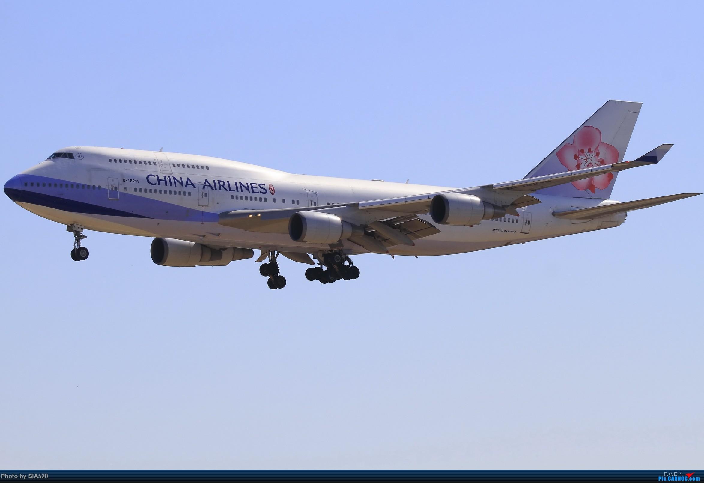 Re:[原创]10-1首都机场随拍,帝都蓝加好看的那一些…… BOEING 747-400 B-18215 中国北京首都国际机场