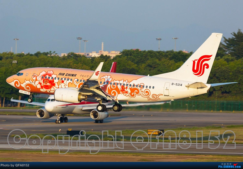 Re:[原创]一点灌水的图片 BOEING 737-700 B-5214 中国广州白云国际机场