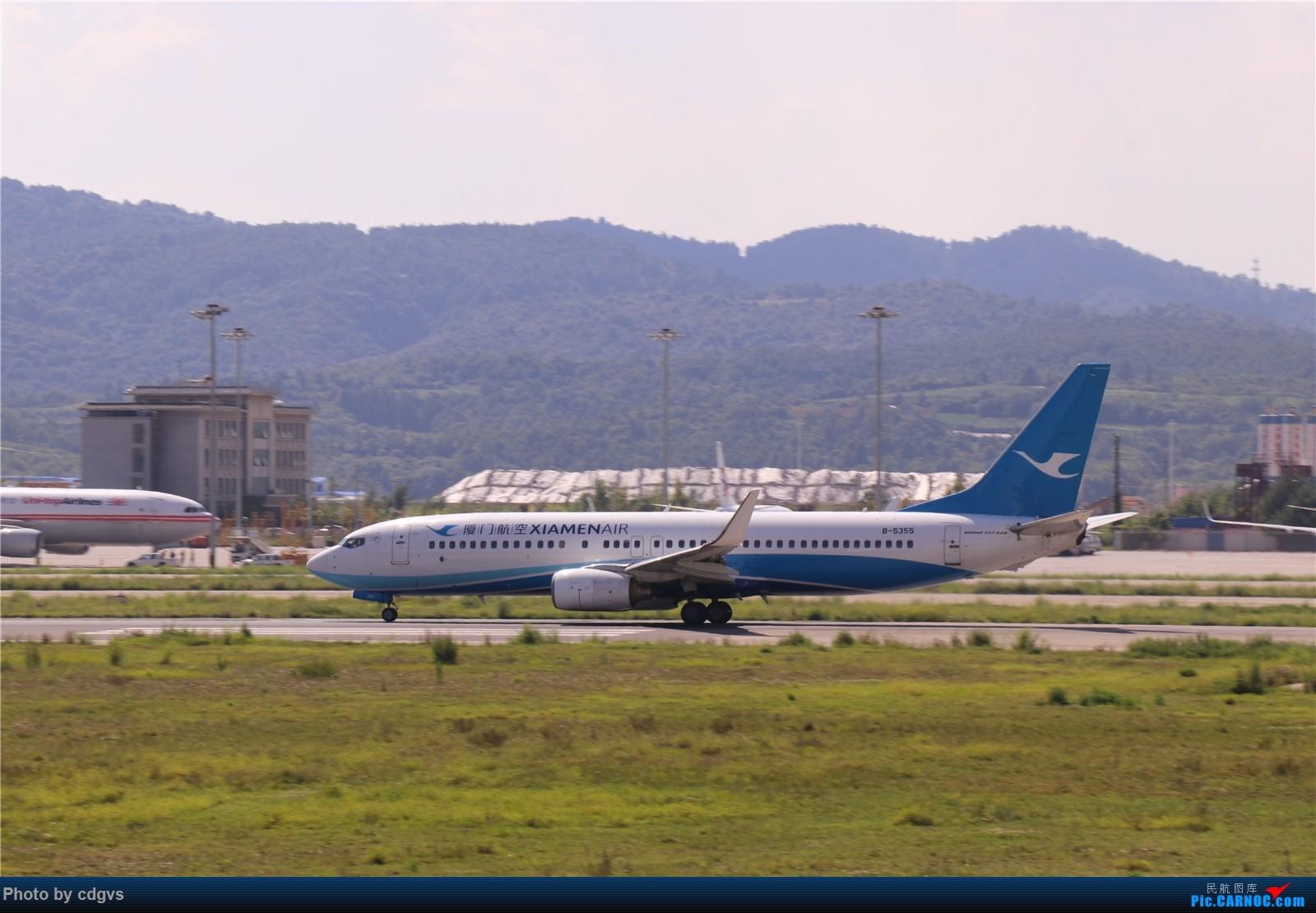 Re:[原创]【KMG】挖挖库存,长水真是个窄体窝子…… BOEING 737-800 B-5355 中国昆明长水国际机场