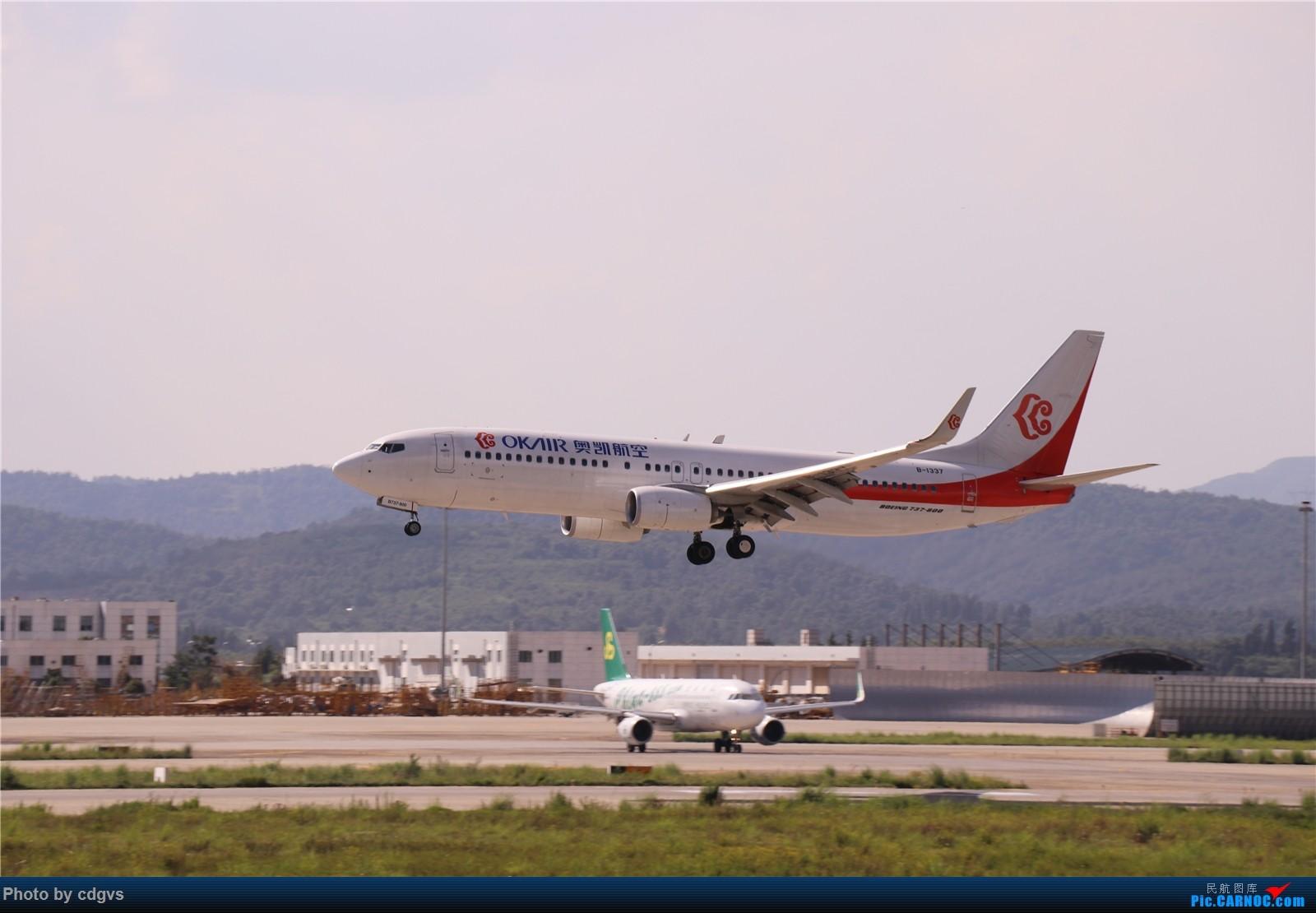 Re:[原创]【KMG】挖挖库存,长水真是个窄体窝子…… BOEING 737-800 B-1337 中国昆明长水国际机场