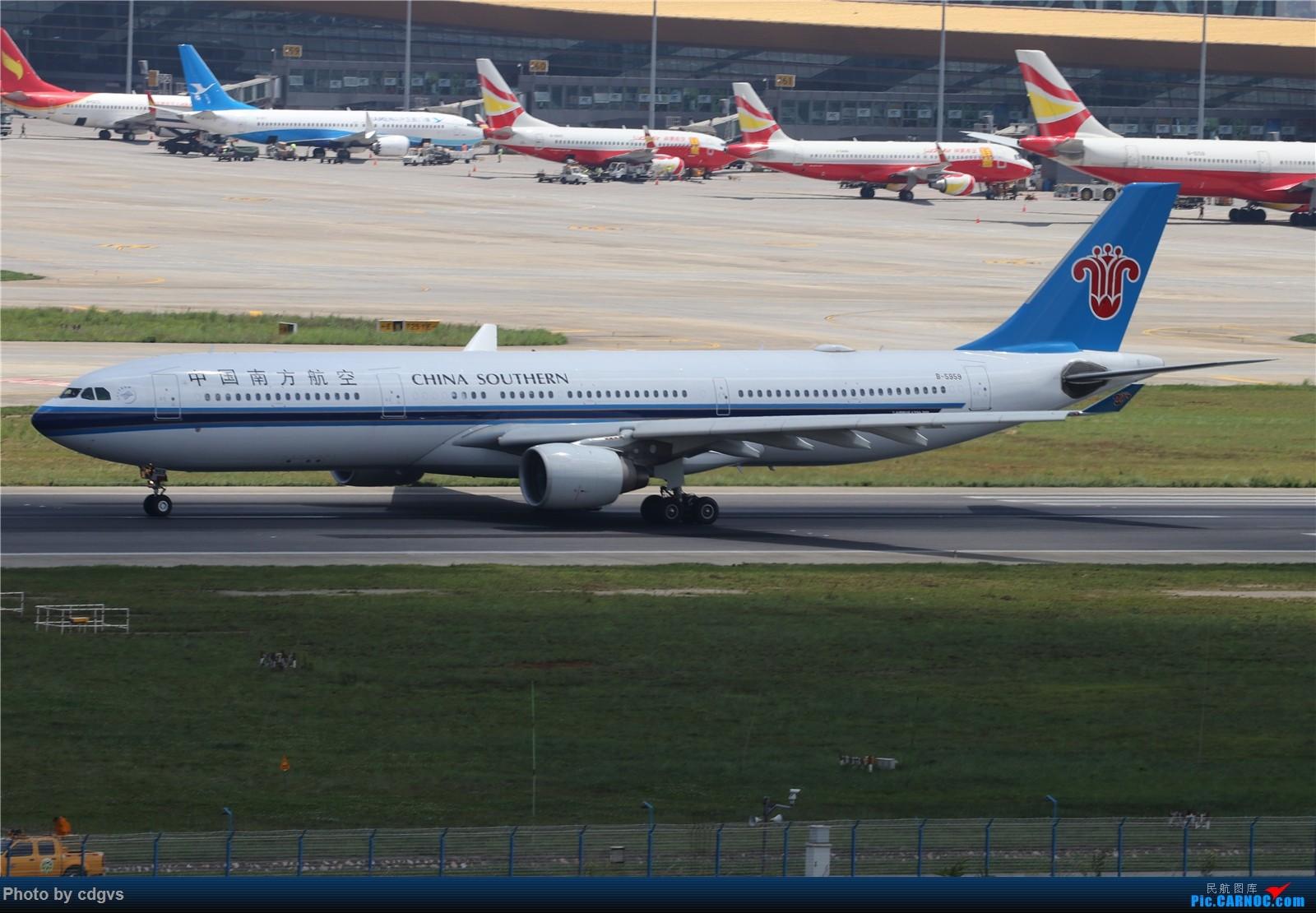 Re:[原创]【KMG】挖挖库存,长水真是个窄体窝子…… AIRBUS A330-300 B-5959 中国昆明长水国际机场