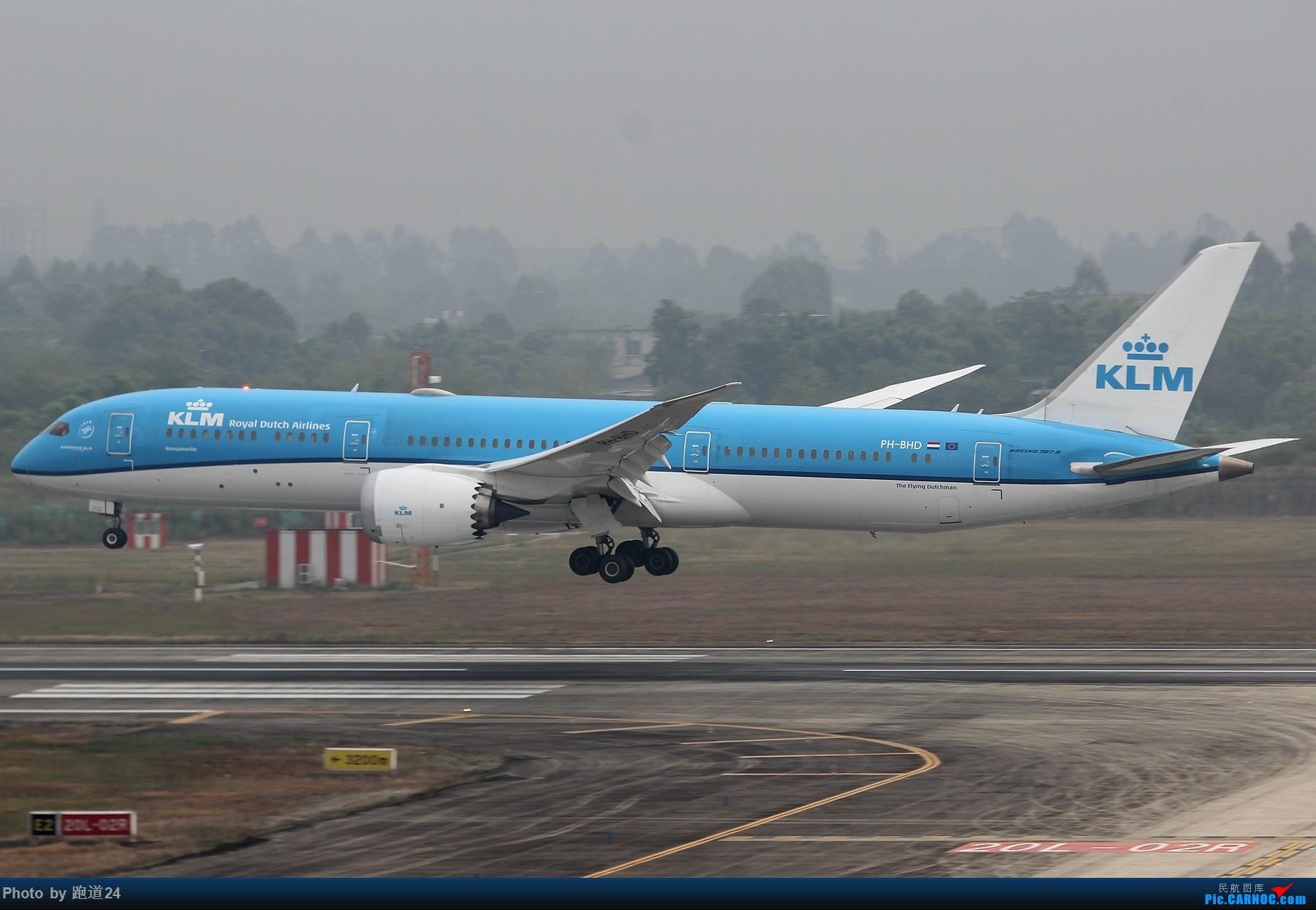 Re:[原创]【多图党】国庆烂天拍机 1800*1200 BOEING 787-9 PH-BHD 中国成都双流国际机场