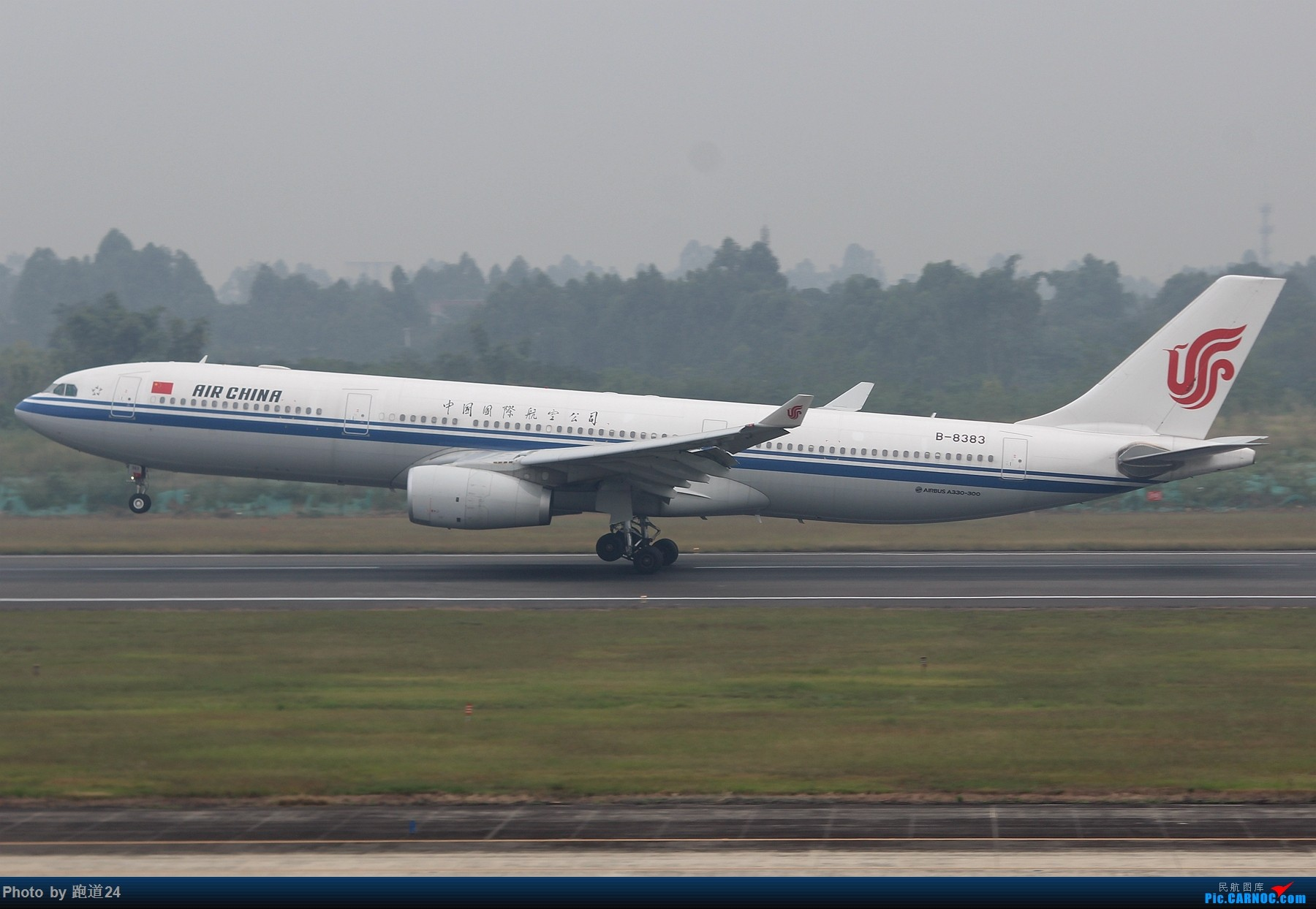 Re:[原创]【多图党】国庆烂天拍机 1800*1200 AIRBUS A330-300 B-8383 中国成都双流国际机场