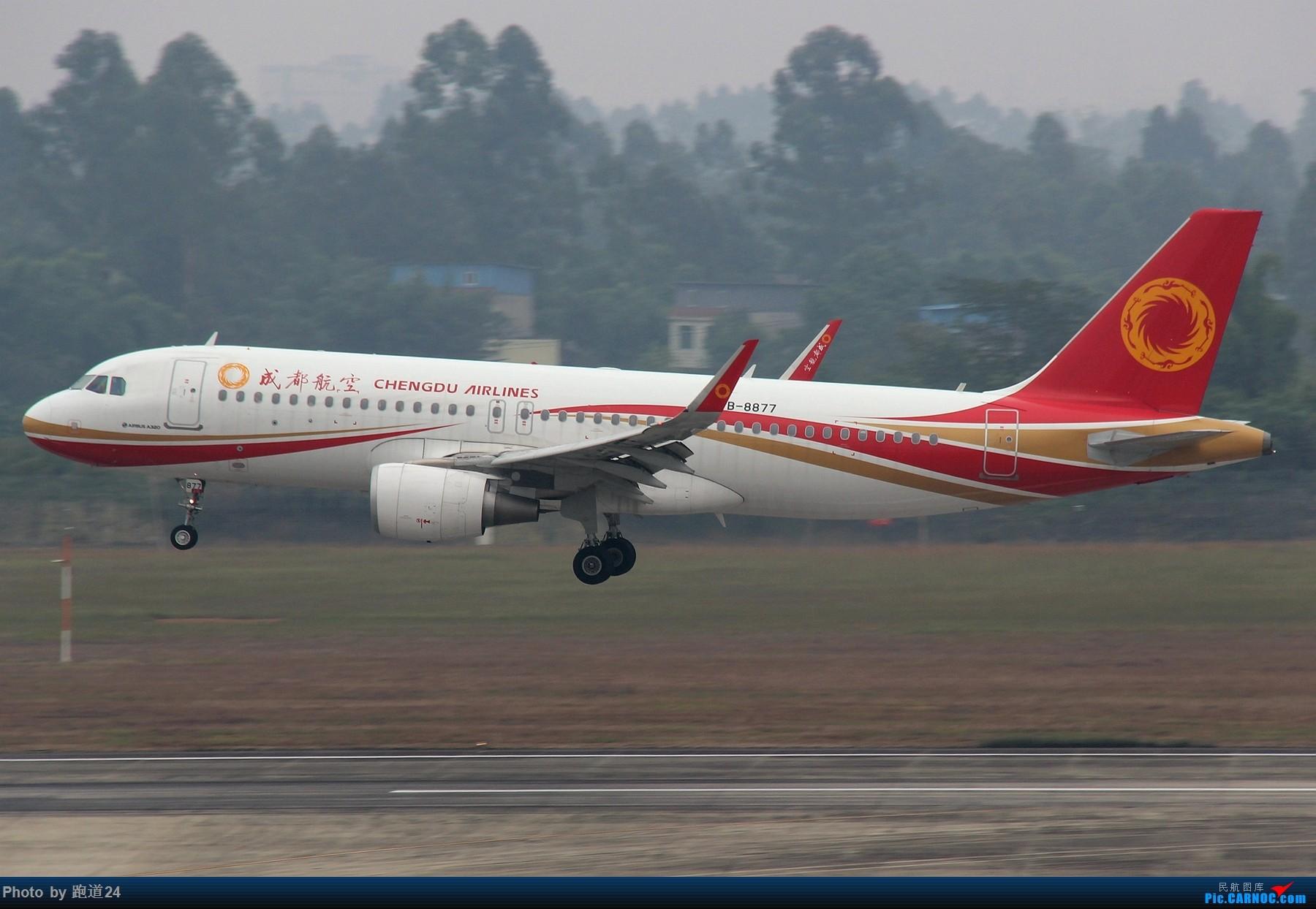 Re:[原创]【多图党】国庆烂天拍机 1800*1200 AIRBUS A320-200 B-8877 中国成都双流国际机场