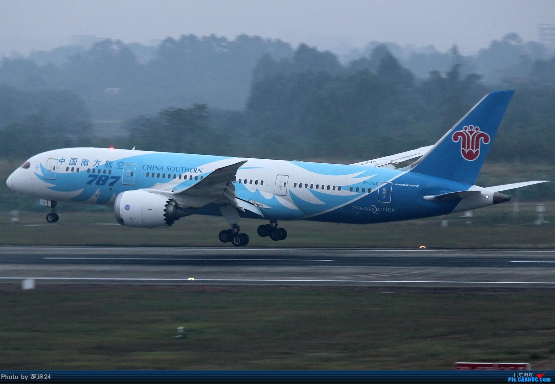 Re:[原创]【多图党】国庆烂天拍机 1800*1200 BOEING 787-8 B-2733 中国成都双流国际机场