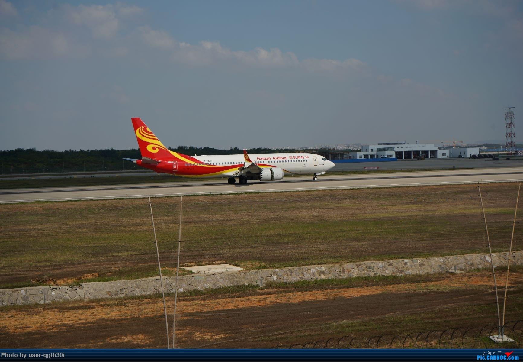 Re:[原创]NKG的秋天 BOEING 737MAX-8 B-1390 中国南京禄口国际机场