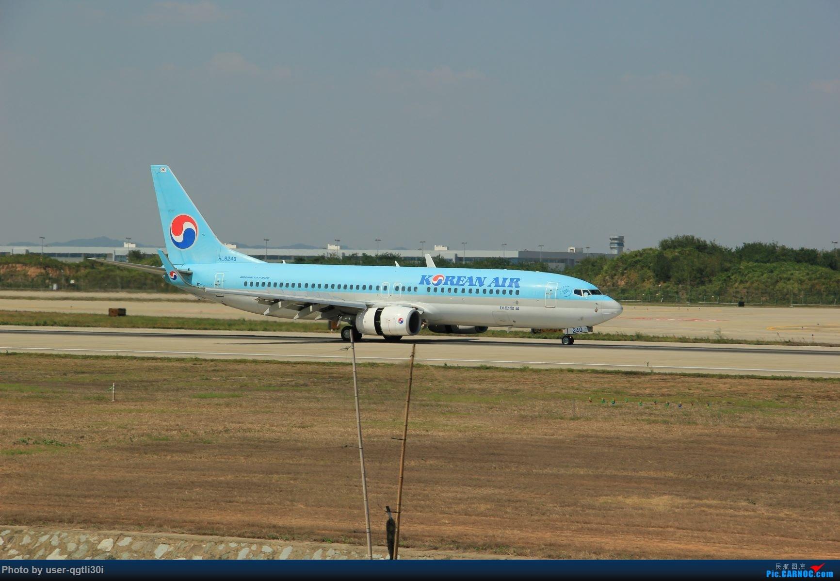 Re:[原创]NKG的秋天 BOEING 737-800 HL8240 中国南京禄口国际机场