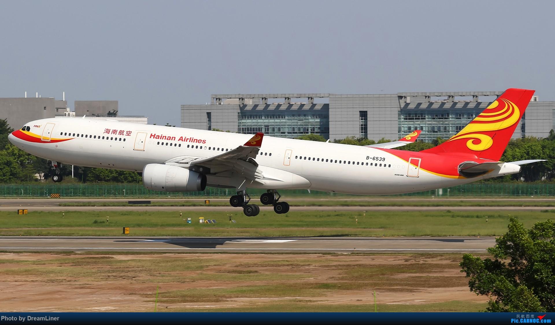 Re:[原创]【CAN】一组宽体 AIRBUS A330-300 B-6539 中国广州白云国际机场