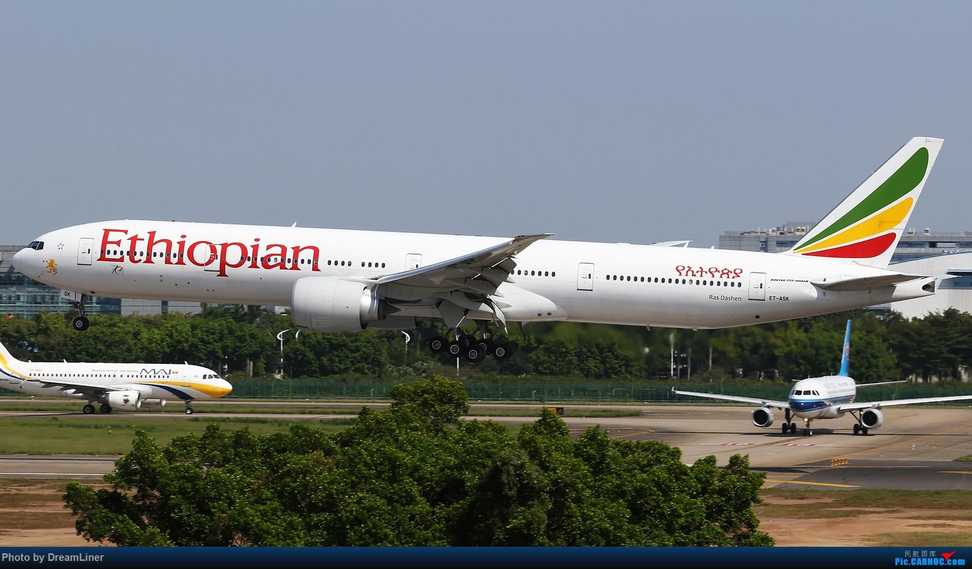 Re:[原创]【CAN】一组宽体 BOEING 777-300ER ET-ASK 中国广州白云国际机场