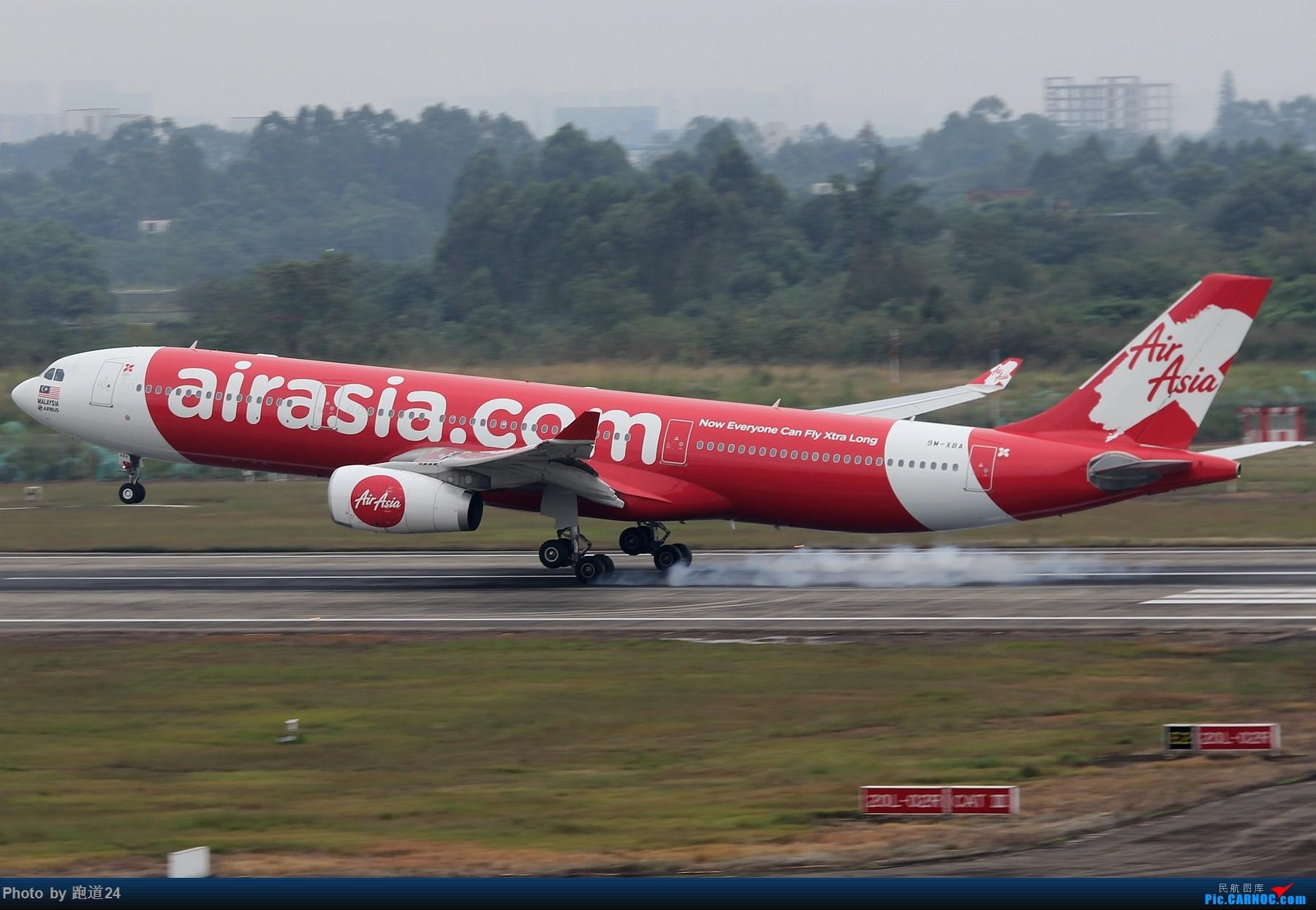 [原创][原创]【多图党】国庆烂天10.7拍机 1800*1200 AIRBUS A330-300 9M-XBA 中国成都双流国际机场