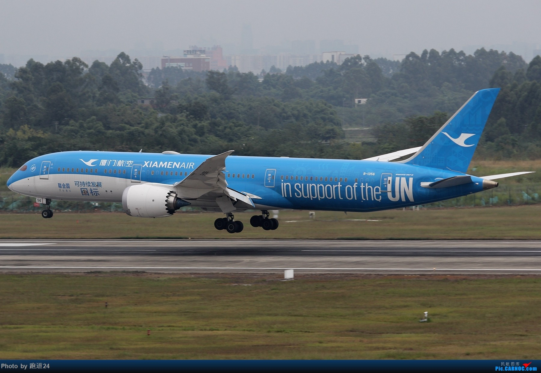 Re:[原创][原创]【多图党】国庆烂天10.7拍机 1800*1200 BOEING 787-9 B-1356 中国成都双流国际机场