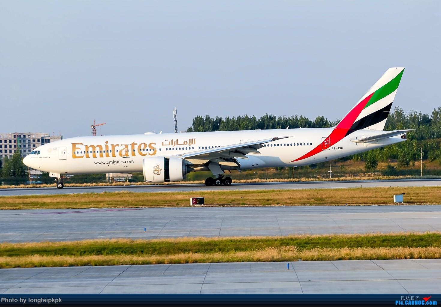Re:[原创]【郑州飞友会】2018国庆拍机 BOEING 777-200ER A6-EWI 中国郑州新郑国际机场