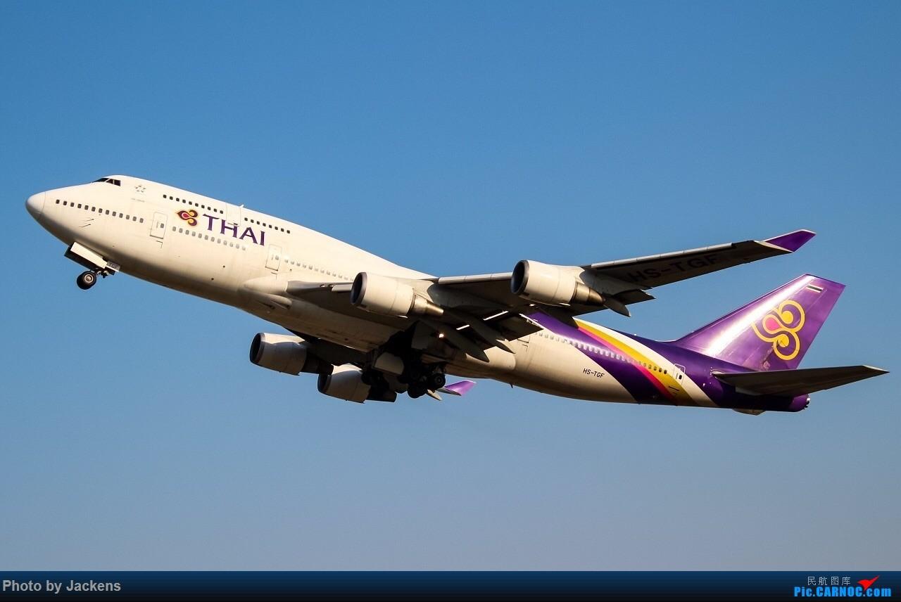[原创]【一图党】THAI BOEING 747-400 HS-TGF 中国广州白云国际机场