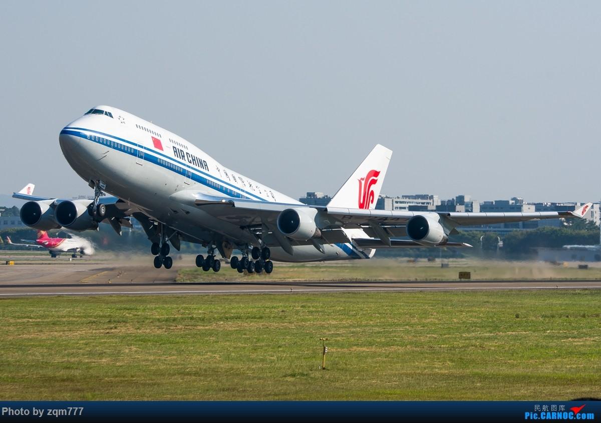 [原创]老骥伏枥,志在千里 BOEING 747-400 B-2447 中国广州白云国际机场