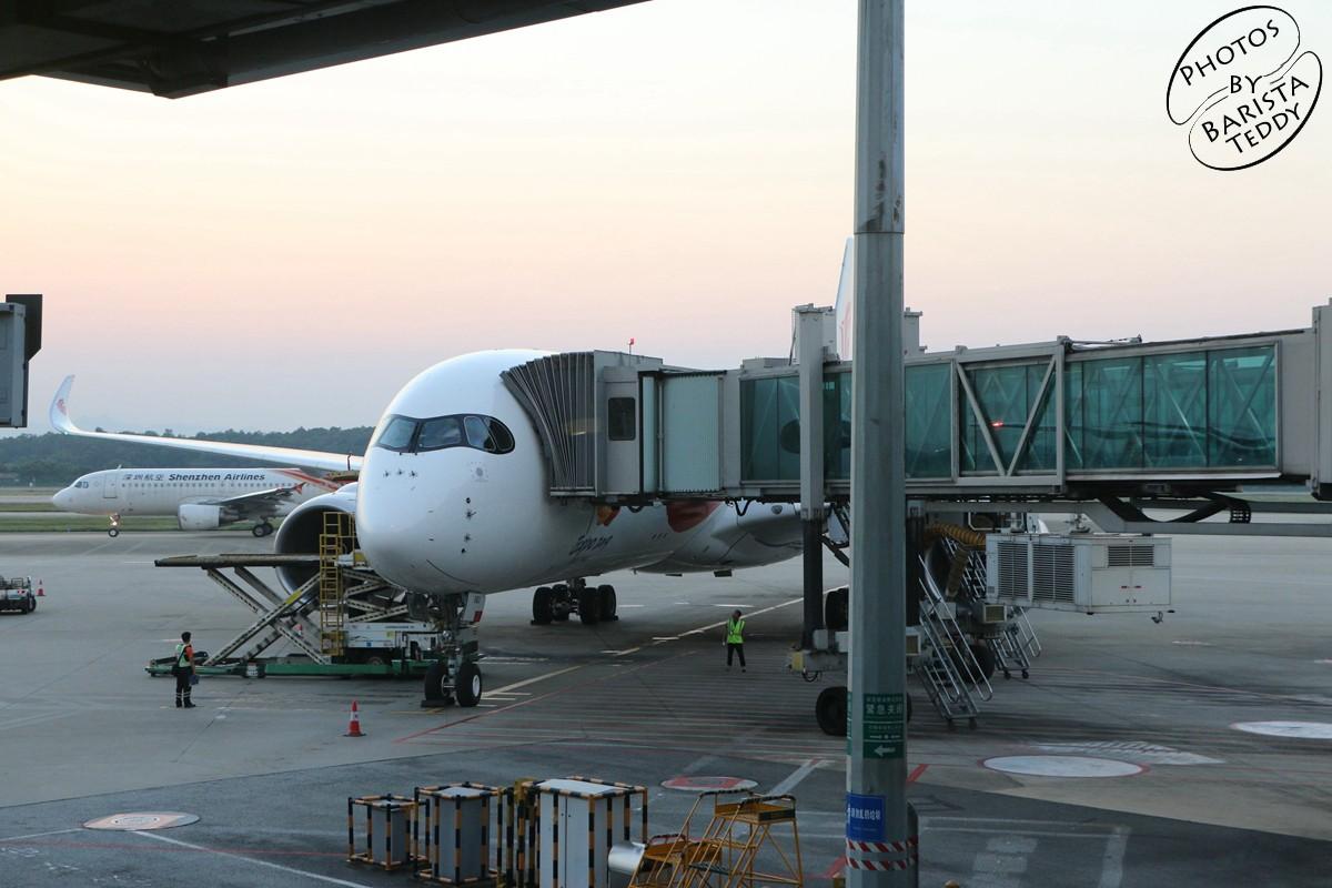 Re:[原创]【仔糕游记18】【A350双杀记】【下】首次体验载旗国航、偶遇2019北京世园会彩绘B-1083·一言难尽的国航京广线体验·CA1301 PEK-CAN