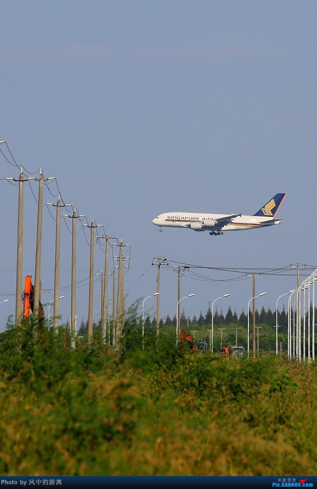 Re:[原创]转季转风向,觅PVG南端 AIRBUS A380-800