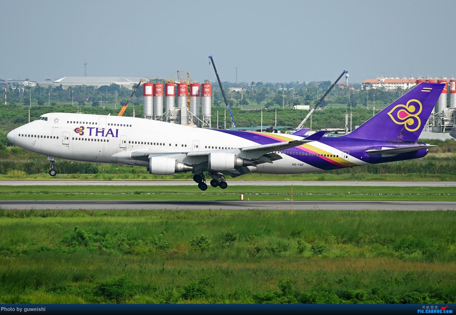 Re:[原创]【早师傅出品】——这是一架才冲出跑道的飞机 BOEING 747-400 HS-TGF 泰国曼谷素万那普国际机场