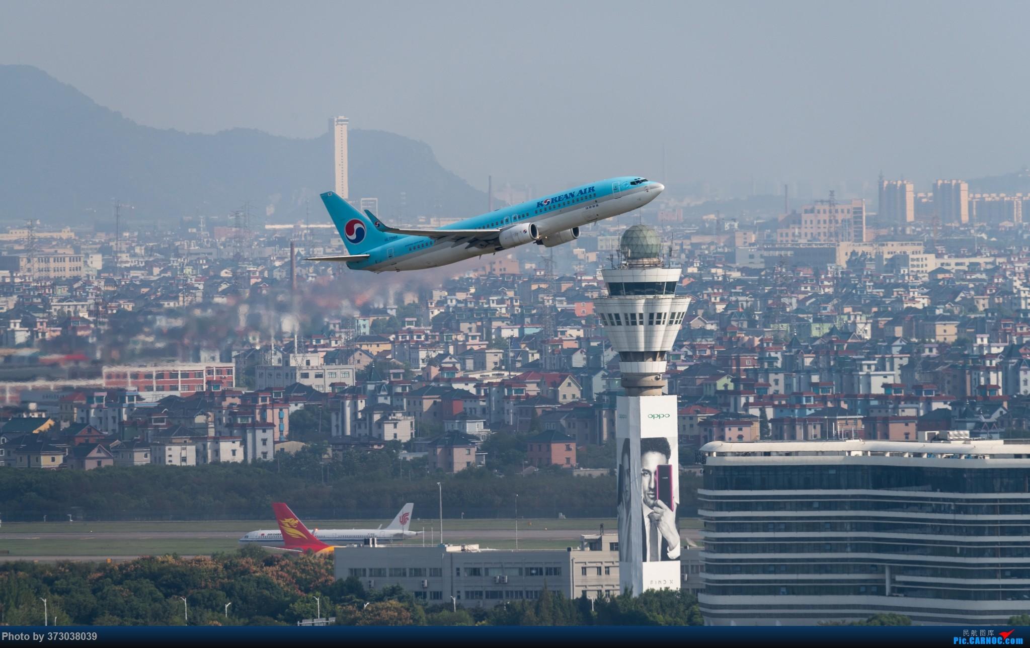 Re:[原创]山顶动人,杭州萧山国际机场 红山观光视角 BOEING 737-800 HL7566 中国杭州萧山国际机场