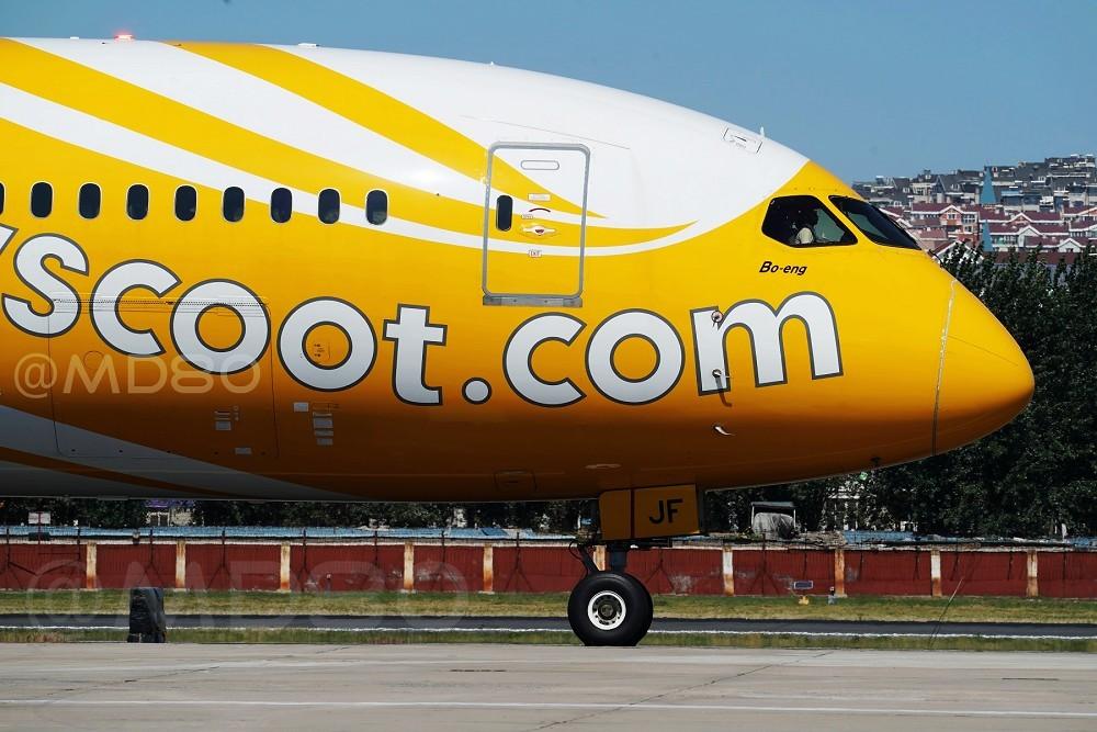 Re:[原创]大连周水子酷航787-9 BOEING 787 9V-OJF 中国大连国际机场
