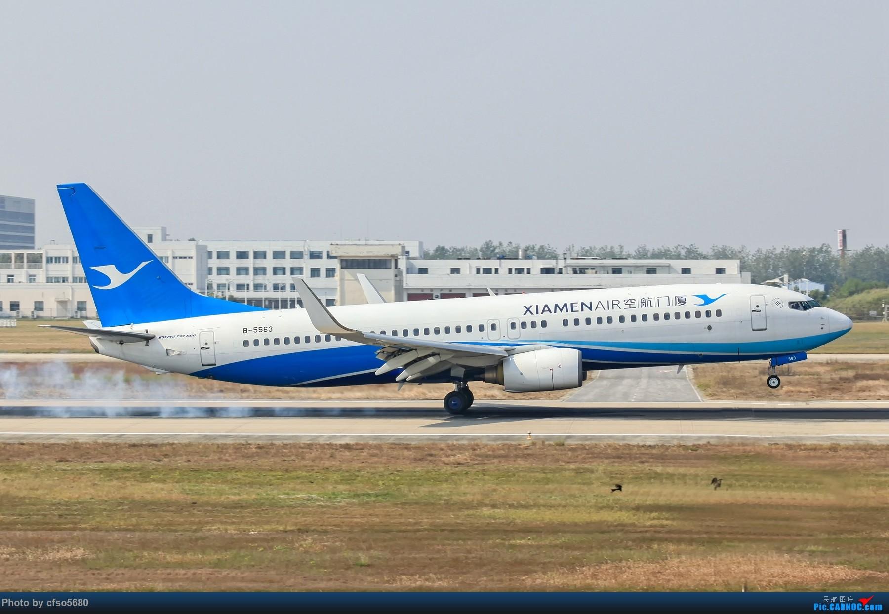 Re:[原创]国庆假期合肥新桥机场拍机活动 BOEING 737-800 B-5563 中国合肥新桥国际机场