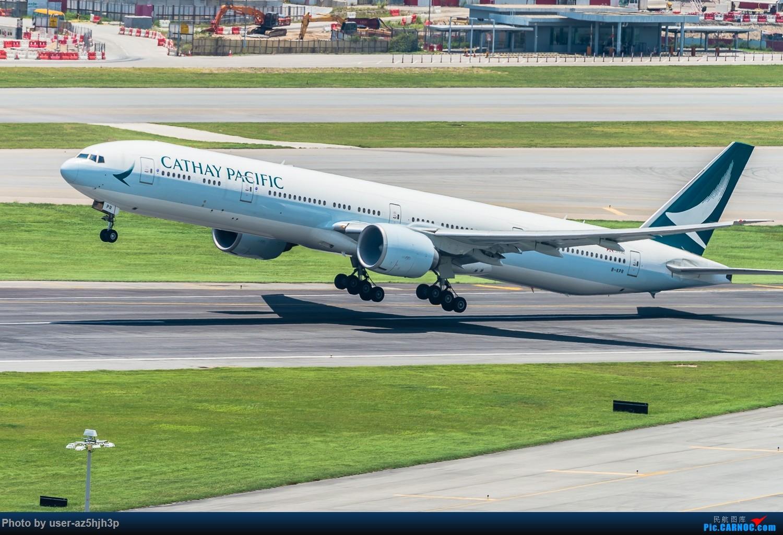 [原创]香港沙螺湾拍机 BOEING 777-300ER B-KPR 香港赤鱲角国际机场