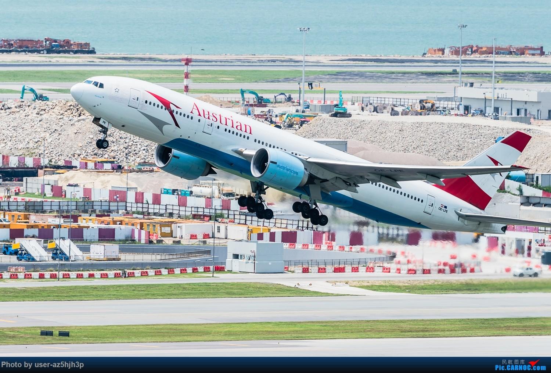 Re:[原创]香港沙螺湾拍机 BOEING 777-200 OE-LPE 香港赤鱲角国际机场