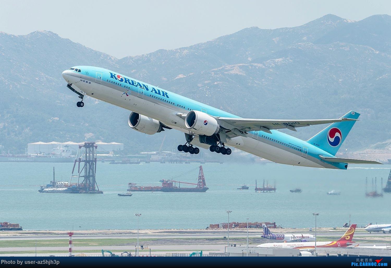 Re:[原创]香港沙螺湾拍机 BOEING 777-300ER HL8010 香港赤鱲角国际机场