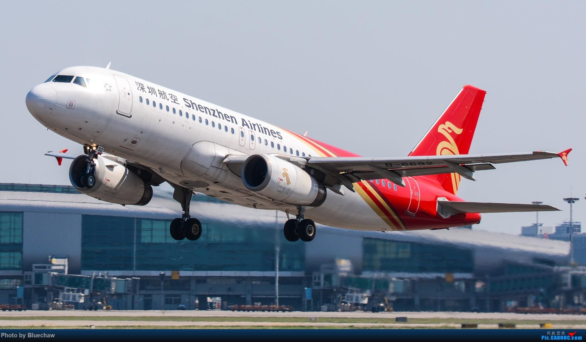 Re:国庆白云拍机~ AIRBUS A320-200 B-6692 中国广州白云国际机场