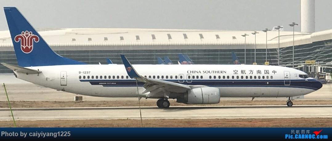 Re:[原创]武汉国庆拍机ps:出门忘带相机 拿手机拍的烂货请见谅! BOEING 737-800 B-1237 武汉天河国际机场