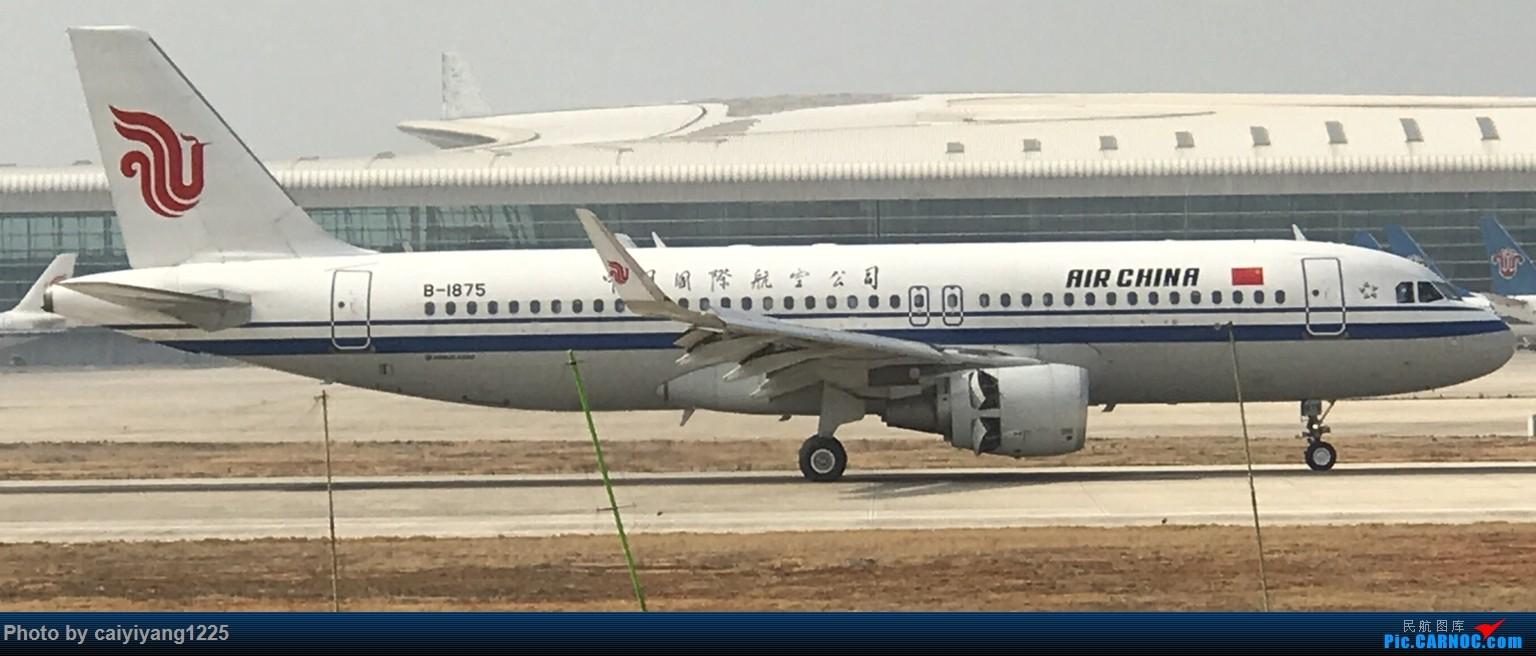 Re:[原创]武汉国庆拍机ps:出门忘带相机 拿手机拍的烂货请见谅! AIRBUS A320-200 B-1875 武汉天河国际机场