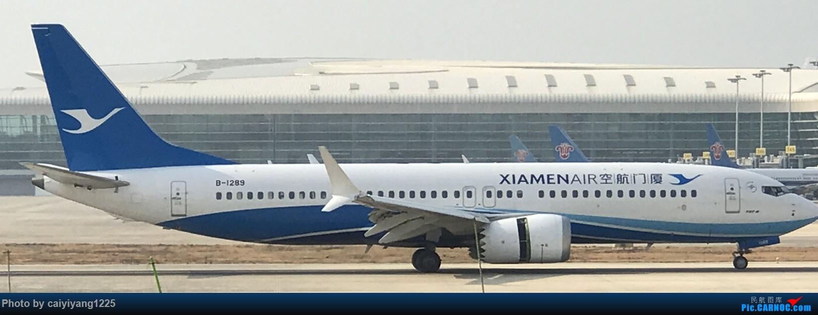 Re:[原创]武汉国庆拍机ps:出门忘带相机 拿手机拍的烂货请见谅! BOEING 737MAX-8 B-1289 武汉天河国际机场