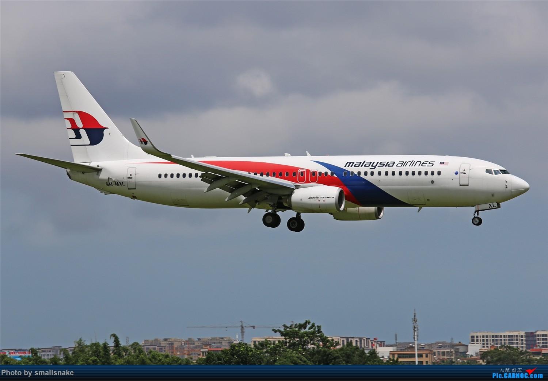 [原创]海口美兰机场拍机... BOEING 737-800 9M-MXL 海口美兰国际机场