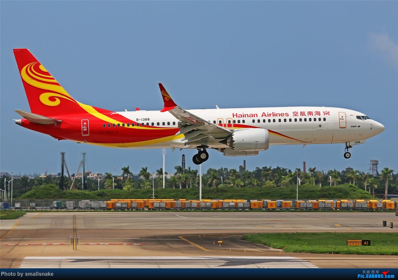 Re:[原创]海口美兰机场拍机... BOEING 737MAX-8 B-1388 海口美兰国际机场