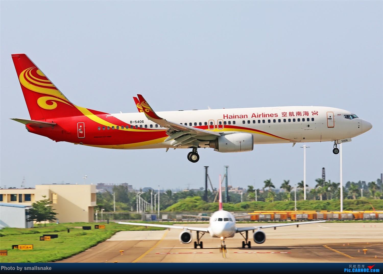 Re:[原创]海口美兰机场拍机... BOEING 737-800 B-5406 海口美兰国际机场