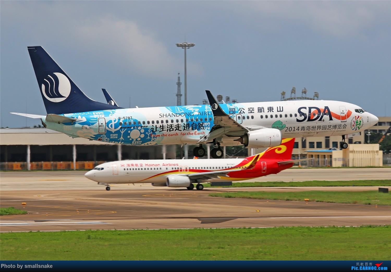 Re:[原创]海口美兰机场拍机... BOEING 737-800 B-5787 海口美兰国际机场