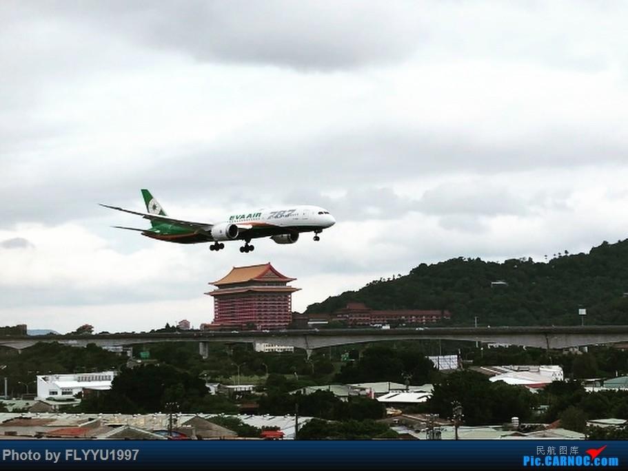 长荣航空波音787-9 BOEING 787-9 B-17881 台北