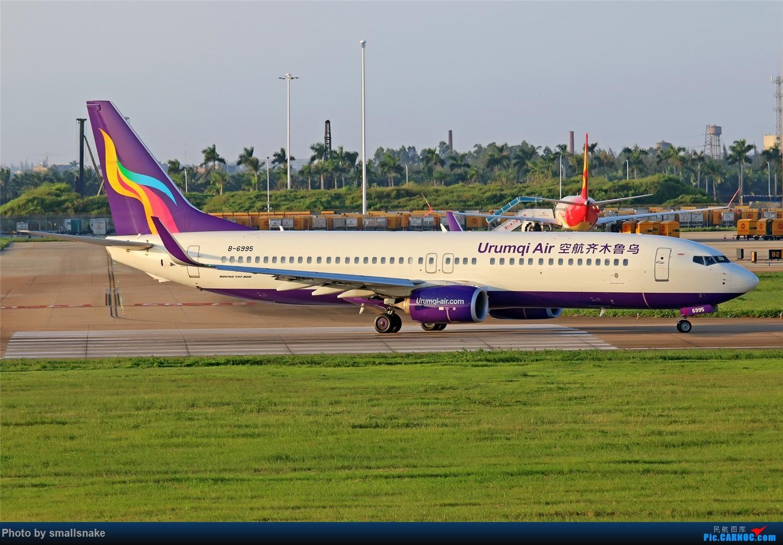 Re:[原创]海口美兰机场拍机... BOEING 737-800 B-6995 海口美兰国际机场