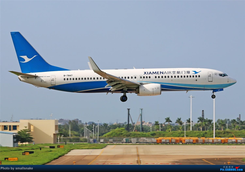 Re:[原创]海口美兰机场拍机... BOEING 737-800 B-7847 海口美兰国际机场