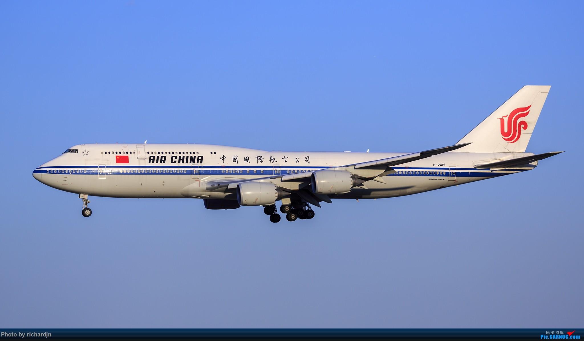 Re:[原创]2018年10月1日ZBAA撸机 BOEING 747-8I B-2481 中国北京首都国际机场