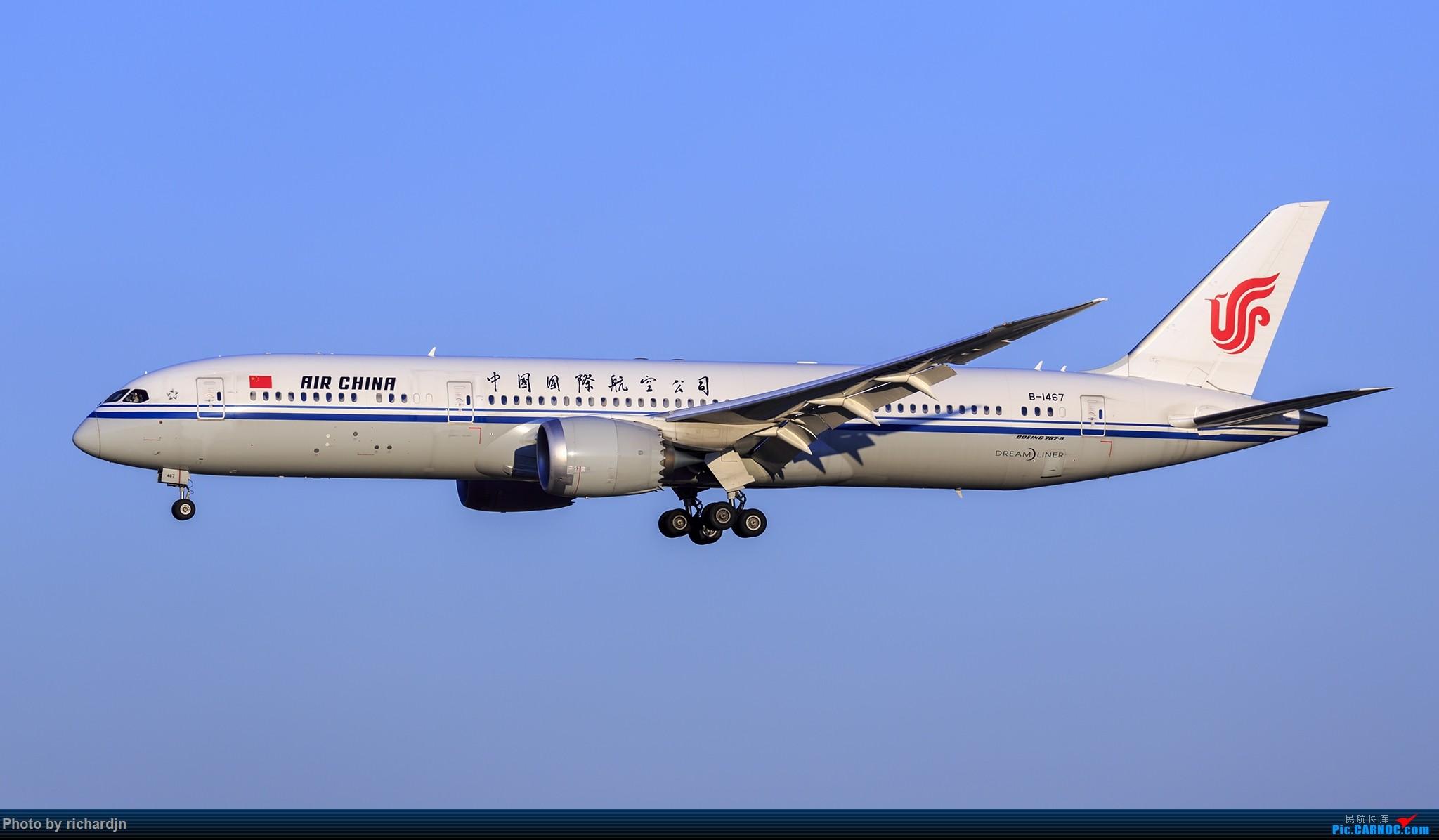 Re:[原创]2018年10月1日ZBAA撸机 BOEING 787-9 B-1467 中国北京首都国际机场